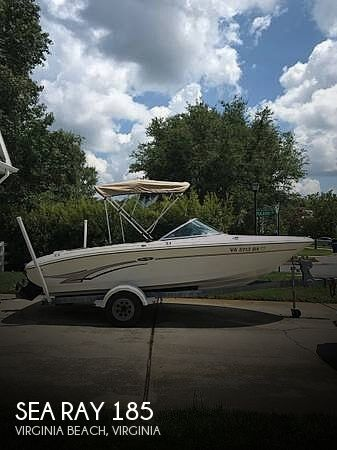 2003 SEA RAY 185 for sale