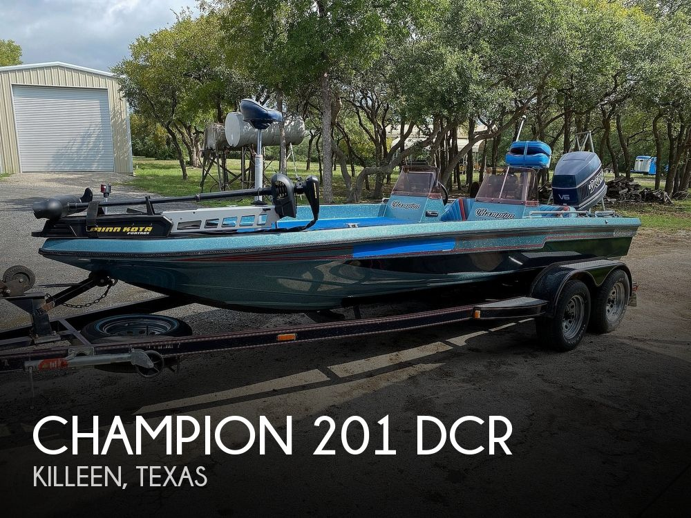 1991 Champion boat for sale, model of the boat is 201 DCR & Image # 1 of 40