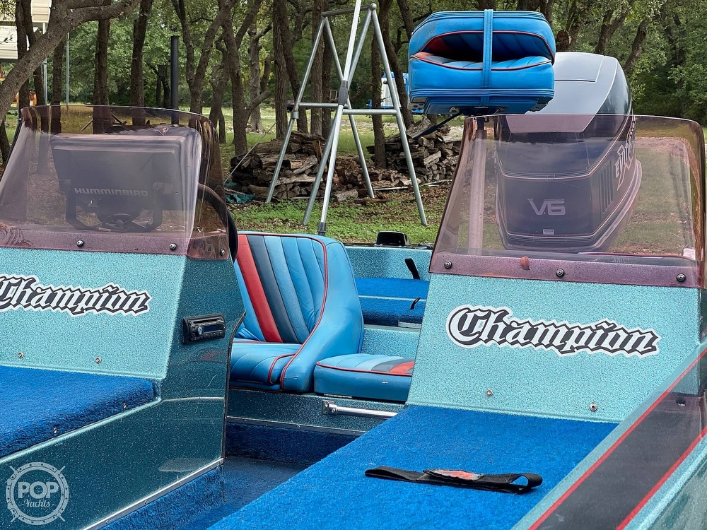 1991 Champion boat for sale, model of the boat is 201 DCR & Image # 3 of 40
