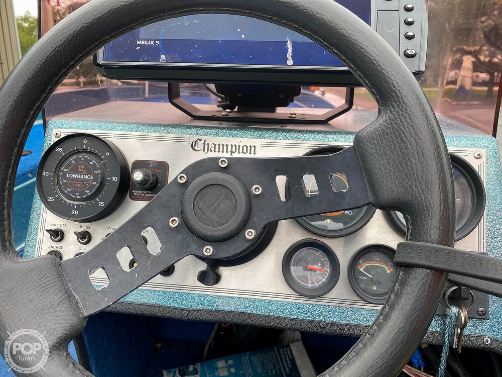1991 Champion boat for sale, model of the boat is 201 DCR & Image # 6 of 40