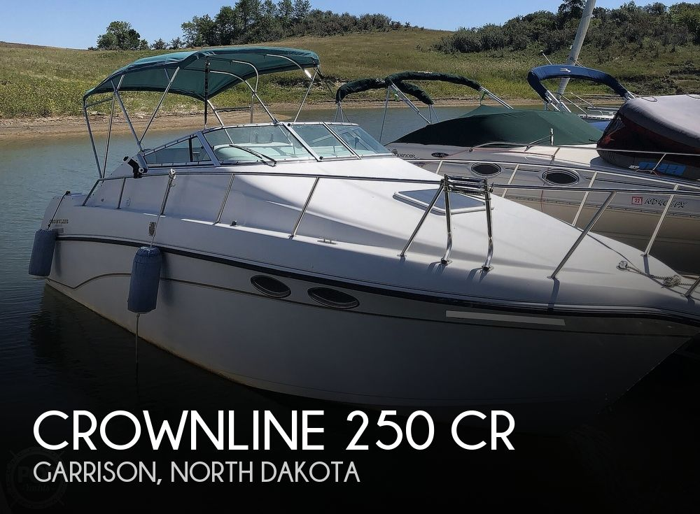 Used Boats For Sale in North Dakota by owner | 1997 Crownline 250 CR