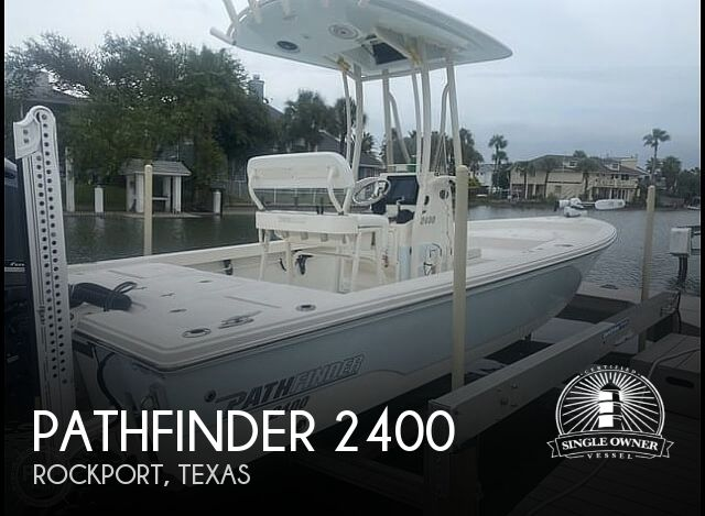 2014 Pathfinder boat for sale, model of the boat is 2400 TRS/CC & Image # 1 of 41