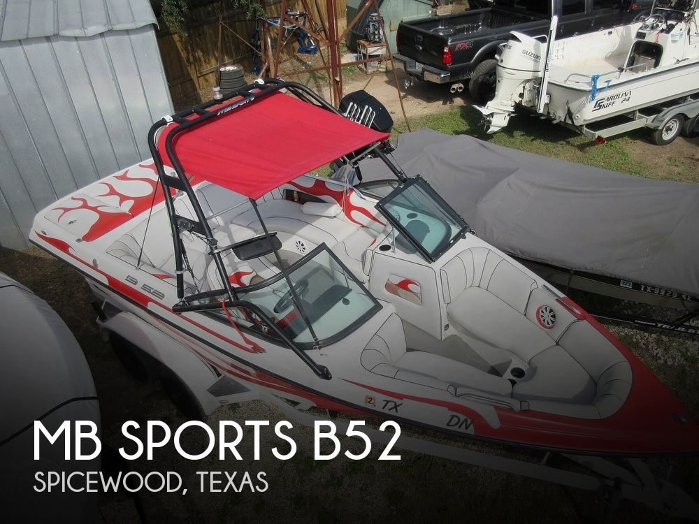 2004 MB Sports boat for sale, model of the boat is B52 & Image # 1 of 40