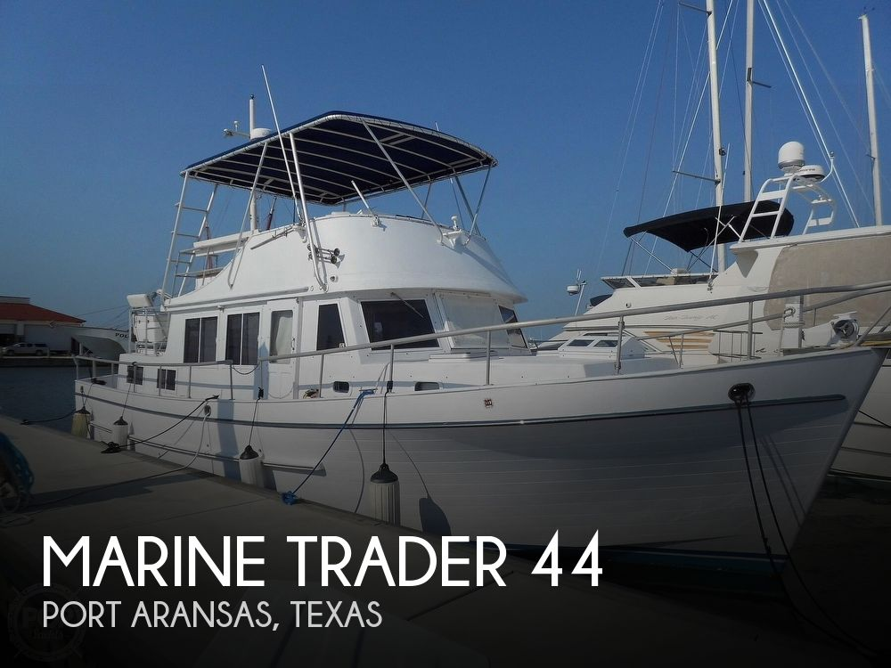 1980 Marine Trader boat for sale, model of the boat is 44 & Image # 1 of 40