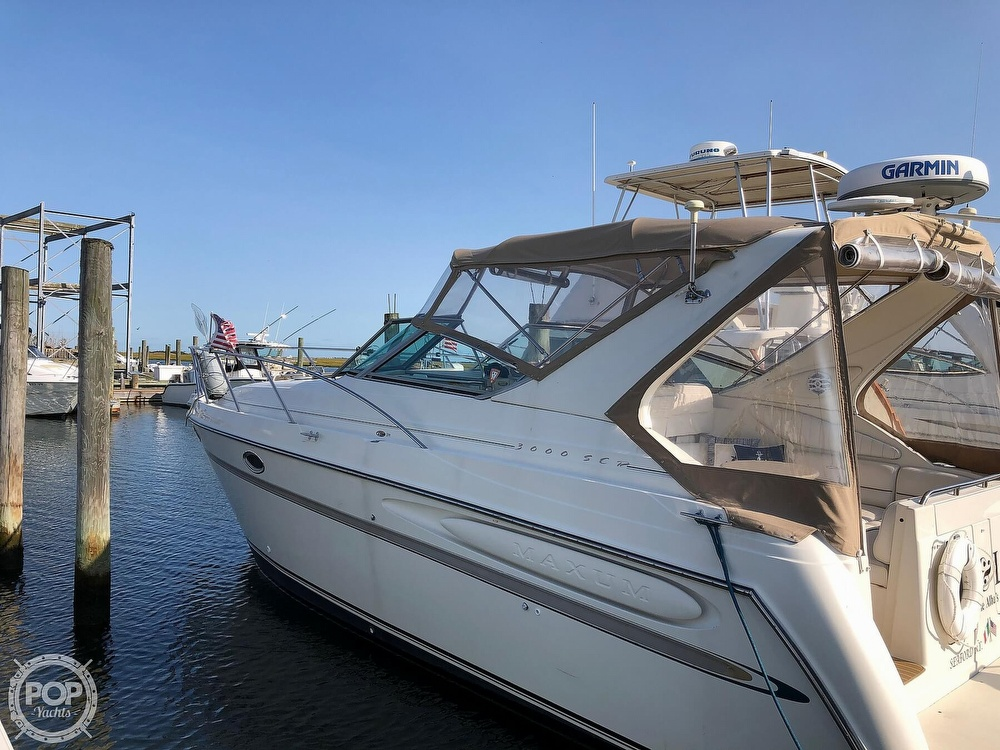 1999 Maxum boat for sale, model of the boat is 3000 SCR & Image # 17 of 40