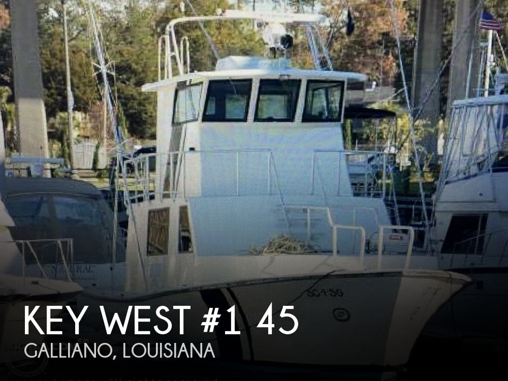 1985 Key West #1 boat for sale, model of the boat is 45 Enclosed Pilothouse & Image # 1 of 11