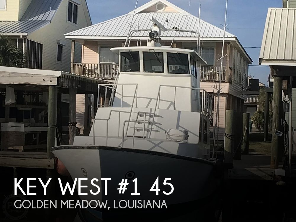 1985 Key West #1 45 Enclosed Pilothouse