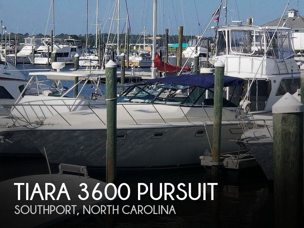 1985 Tiara Yachts boat for sale, model of the boat is 3600 Pursuit & Image # 1 of 40