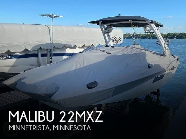 Used MALIBU Boats For Sale by owner | 2018 Malibu 22MXZ