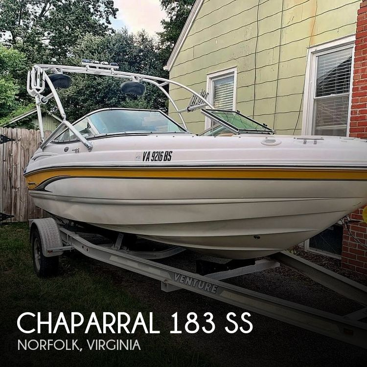 Used Chaparral 183 SS Boats For Sale by owner | 2003 Chaparral 183 SS