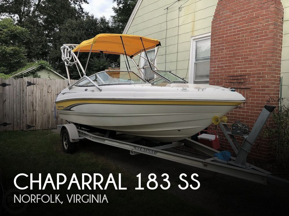 2003 CHAPARRAL 183 SS for sale