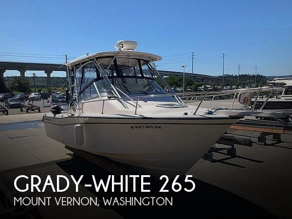 Used Grady-White Boats For Sale in Washington by owner | 2001 Grady-White 265 Express