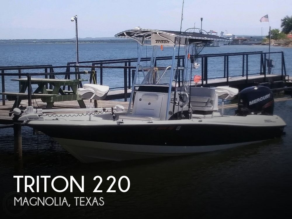 Used Triton  Boats For Sale by owner | 2018 Triton 220 LTS Pro Tournament Edition