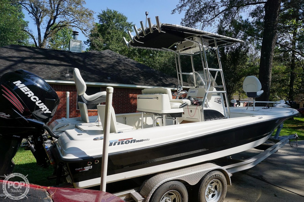 2018 Triton boat for sale, model of the boat is 220 LTS Pro Tournament Edition & Image # 13 of 40