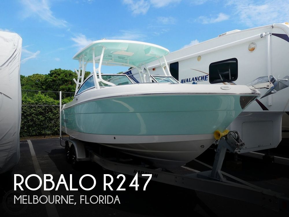 2018 Robalo boat for sale, model of the boat is R247 & Image # 1 of 40