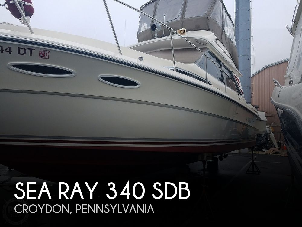 Used Boats For Sale in Allentown, Pennsylvania by owner | 1987 Sea Ray 340 SDB