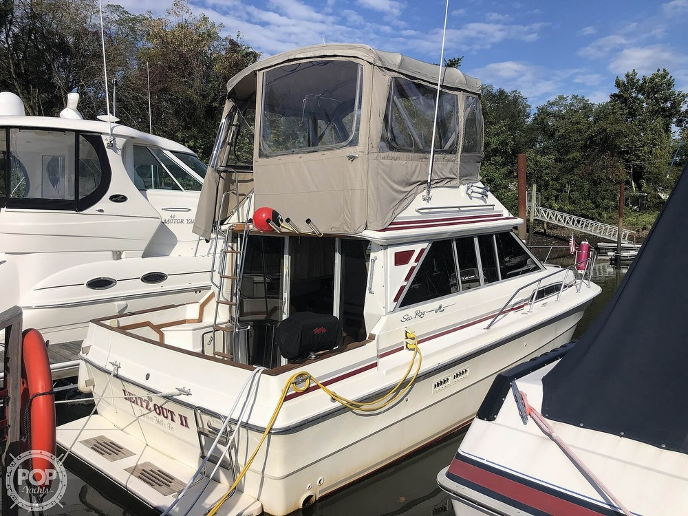 1987 Sea Ray boat for sale, model of the boat is 340 SDB & Image # 20 of 40