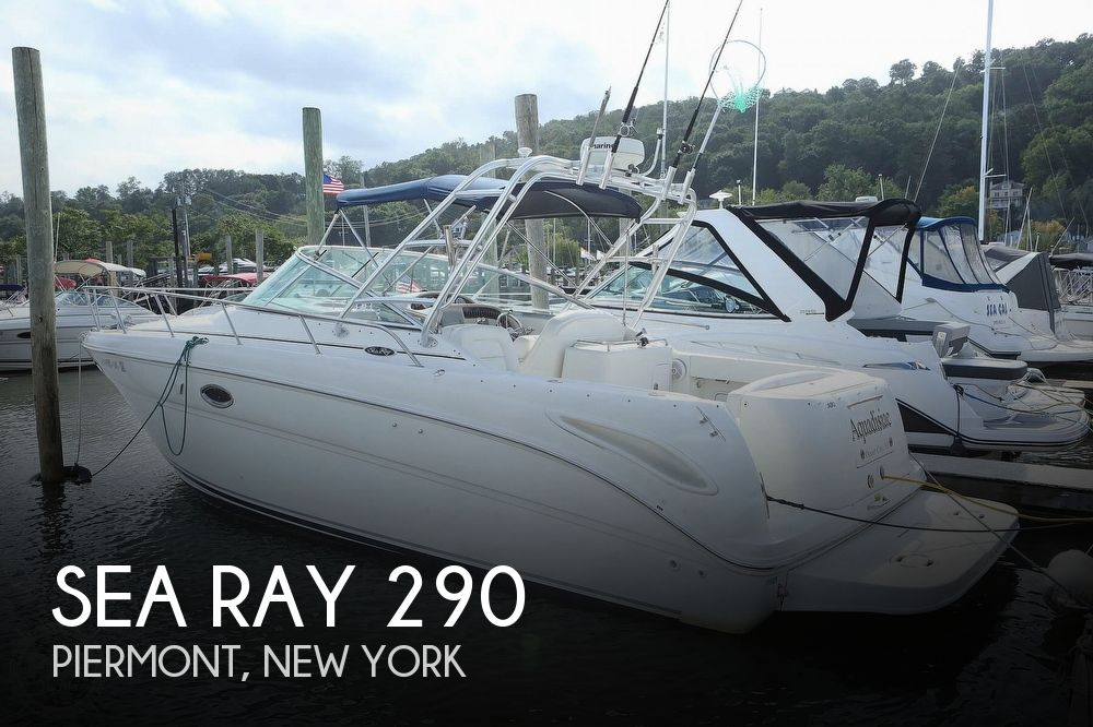 2004 Sea Ray boat for sale, model of the boat is 290 Amberjack & Image # 1 of 40