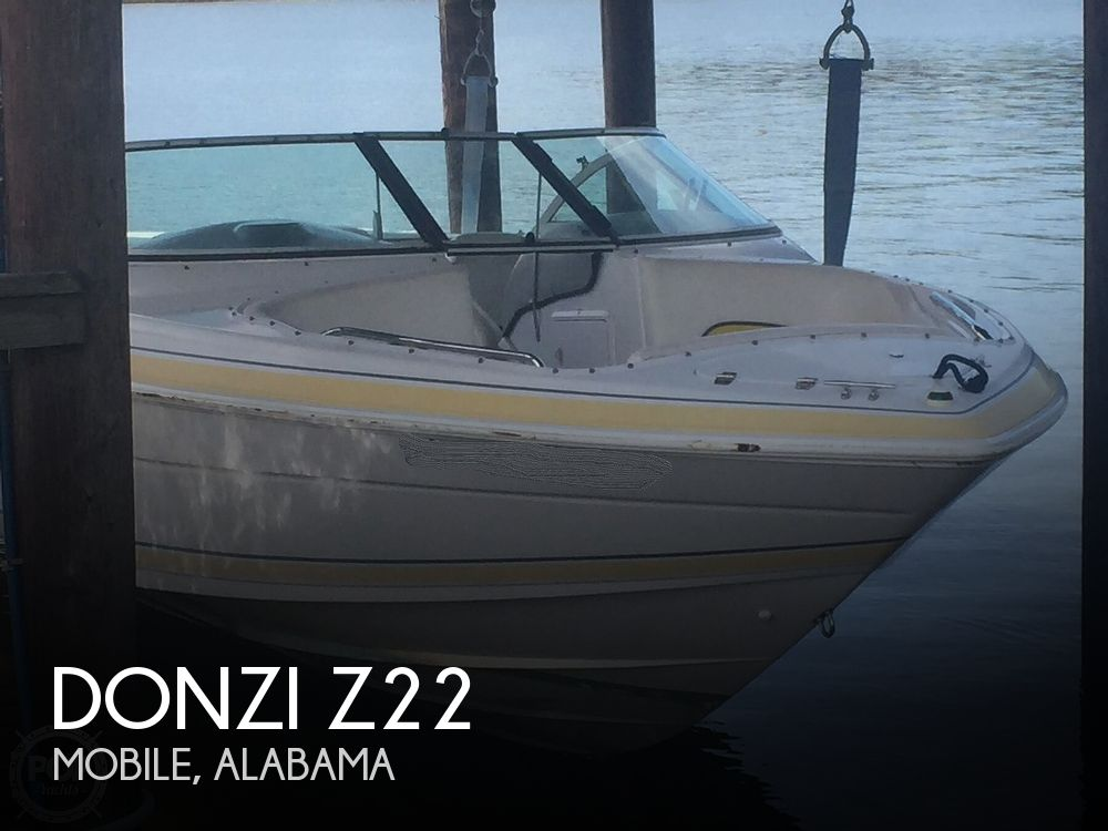 2001 Donzi boat for sale, model of the boat is Z22 & Image # 1 of 41