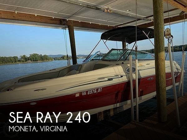 Used Boats For Sale in Roanoke, Virginia by owner | 2006 Sea Ray 240
