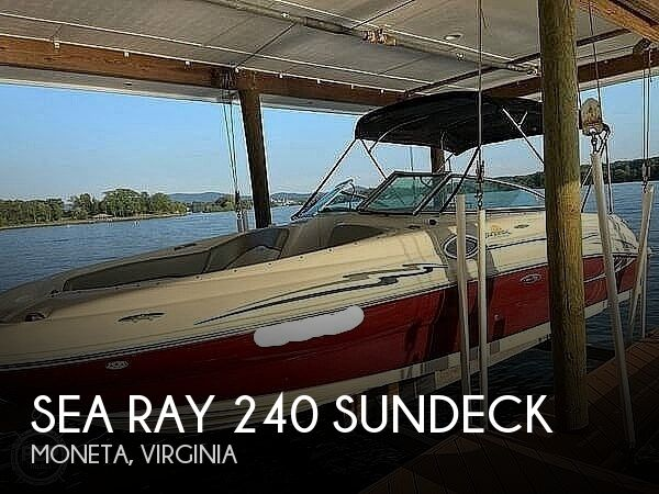 2006 SEA RAY 240 SUNDECK for sale