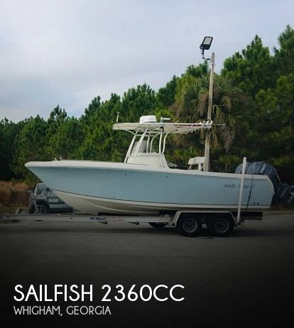 Used Boats For Sale in Tallahassee, Florida by owner | 2006 Sailfish 2360CC
