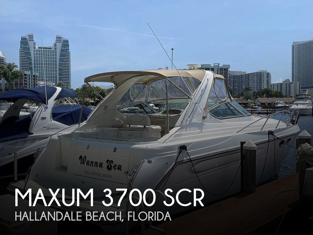 Used Maxum Boats For Sale by owner | 2001 Maxum 3700 SCR