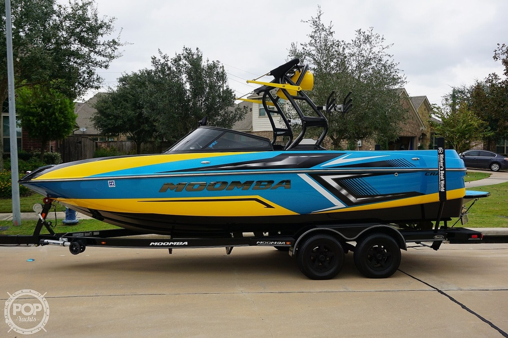2017 Moomba boat for sale, model of the boat is Craz Surf Edition & Image # 7 of 40