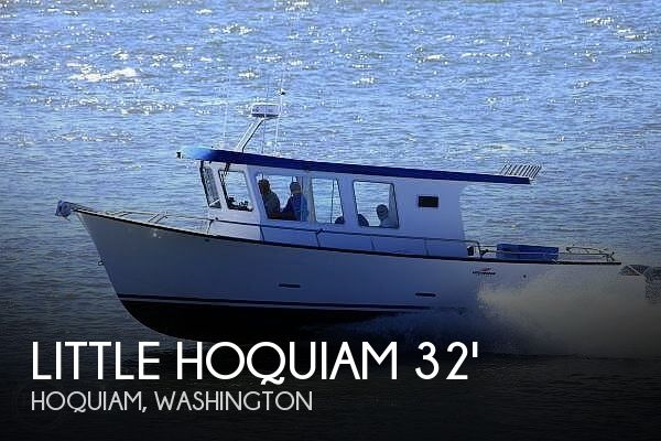Used Boats For Sale in Olympia, Washington by owner | 2014 Little Hoquiam 32x12 Pilothouse