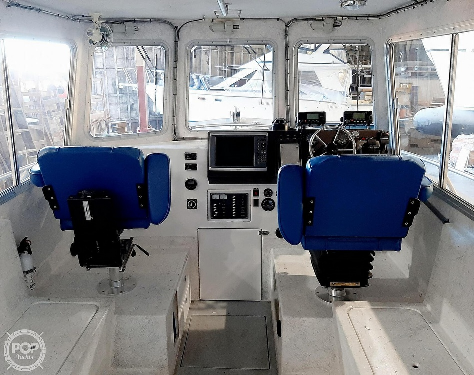 2014 Little Hoquiam boat for sale, model of the boat is 32x12 Pilothouse & Image # 2 of 40