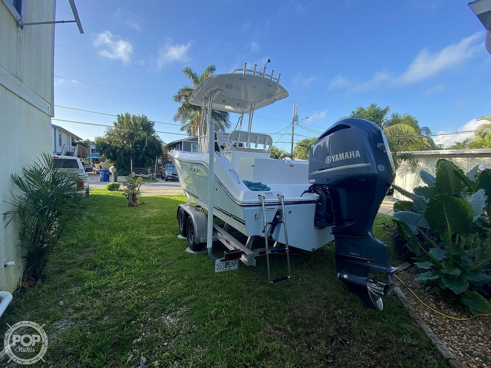2014 Cobia boat for sale, model of the boat is 237 & Image # 38 of 40