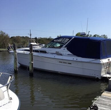 1988 Sea Ray 390 Express Cruiser - #1