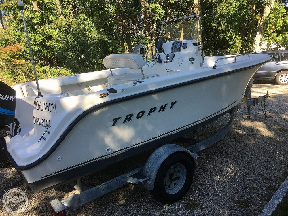 2002 Trophy boat for sale, model of the boat is 17 & Image # 16 of 41