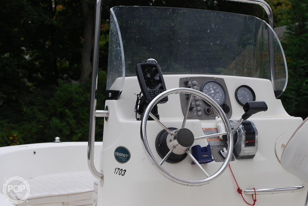 2002 Trophy boat for sale, model of the boat is 17 & Image # 26 of 41
