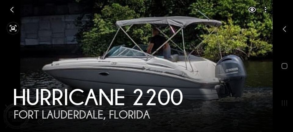 2017 Hurricane SD 2200 DC