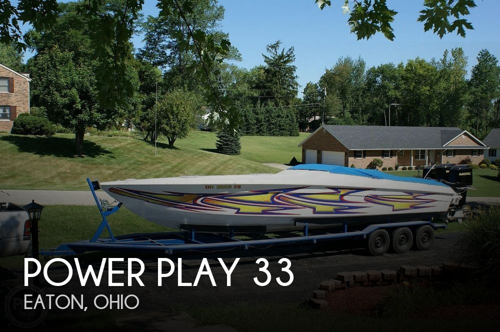 Used Power Play Boats For Sale by owner | 1996 Power Play 33