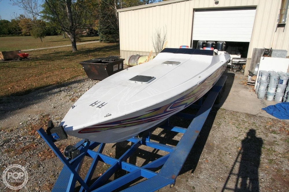 1995 Power Play boat for sale, model of the boat is 33 & Image # 3 of 40