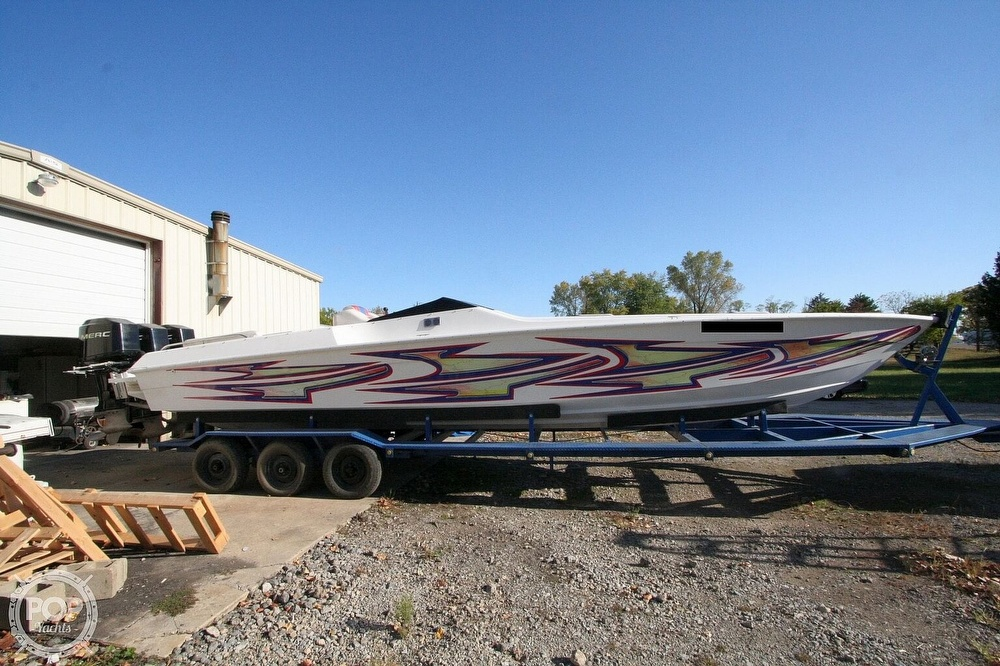 1995 Power Play boat for sale, model of the boat is 33 & Image # 5 of 40