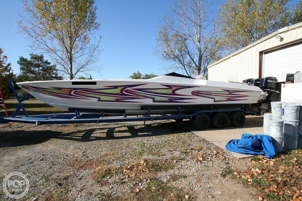 1995 Power Play boat for sale, model of the boat is 33 & Image # 9 of 40