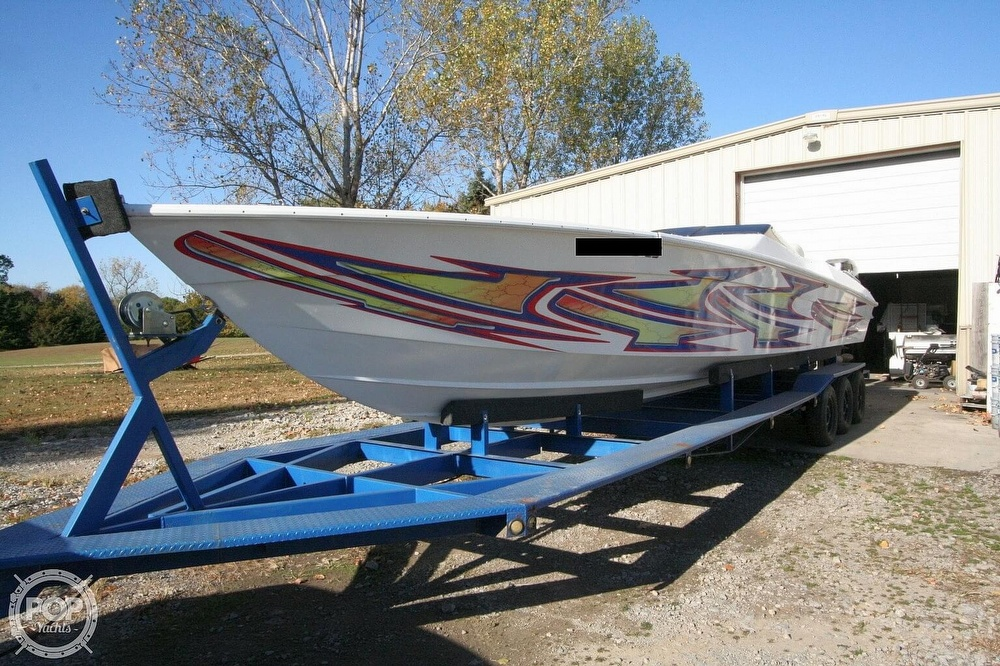 1995 Power Play boat for sale, model of the boat is 33 & Image # 13 of 40