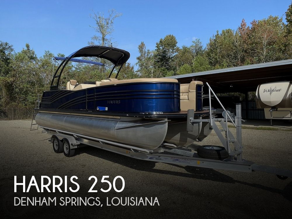 2019 Harris boat for sale, model of the boat is Grand Mariner 250 & Image # 1 of 40