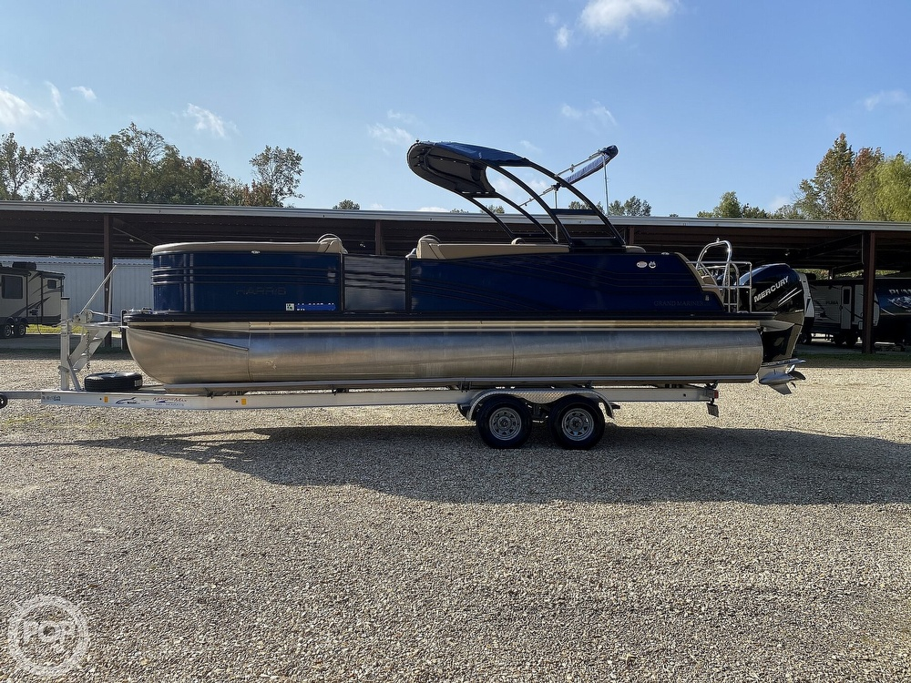 2019 Harris boat for sale, model of the boat is Grand Mariner 250 & Image # 3 of 40