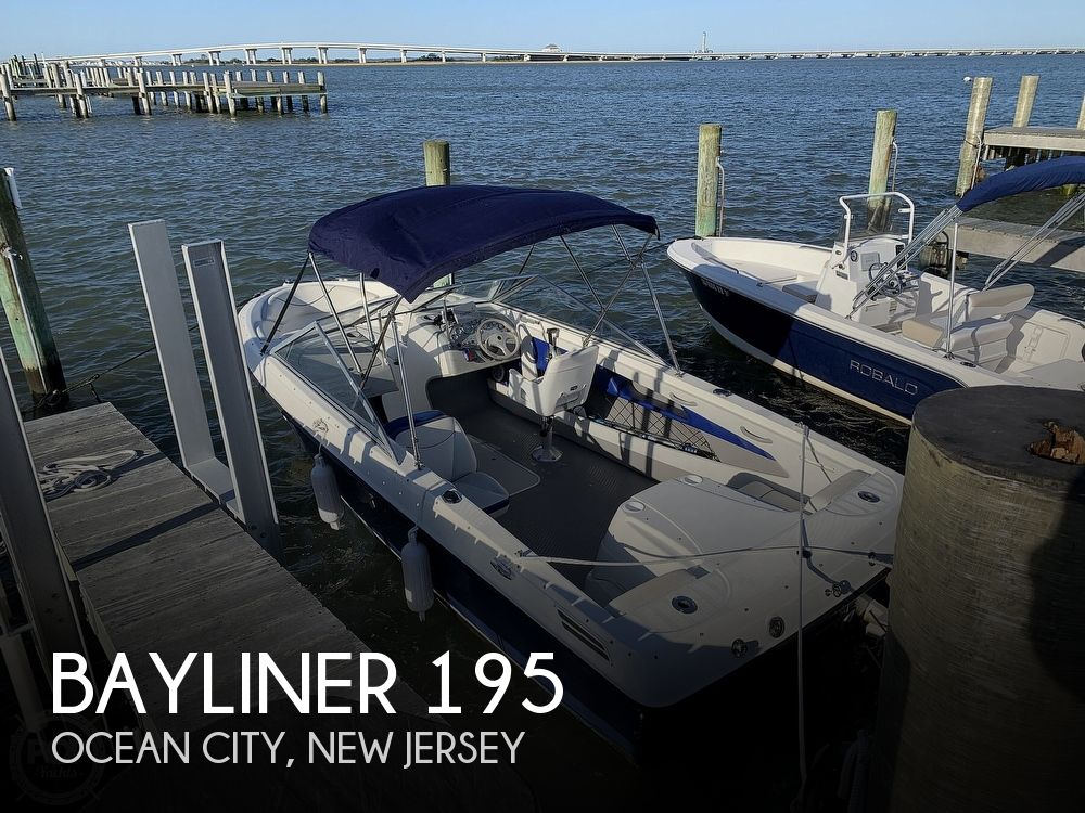 2006 Bayliner boat for sale, model of the boat is 195 & Image # 1 of 40