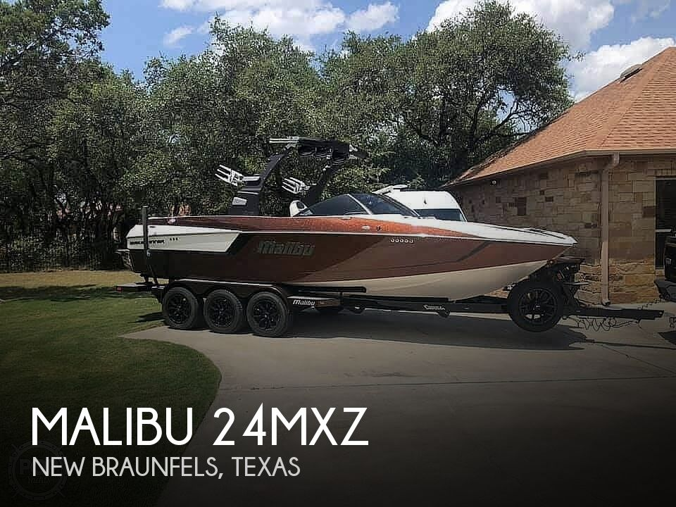 2017 Malibu boat for sale, model of the boat is 24mxz & Image # 1 of 40