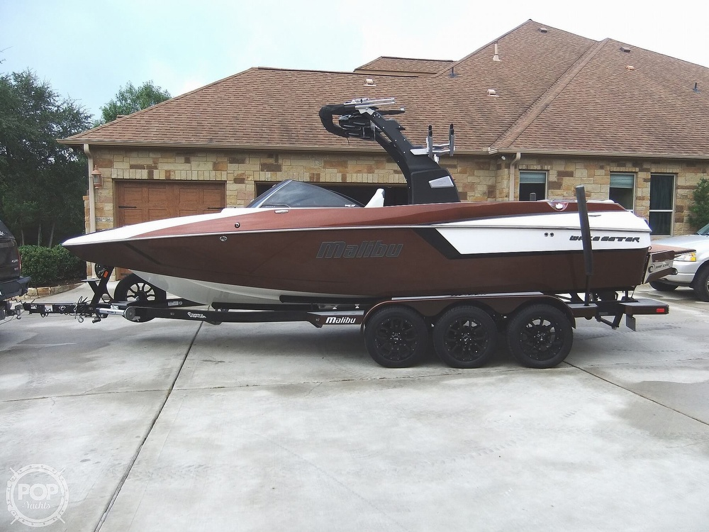 2017 Malibu boat for sale, model of the boat is 24mxz & Image # 18 of 40