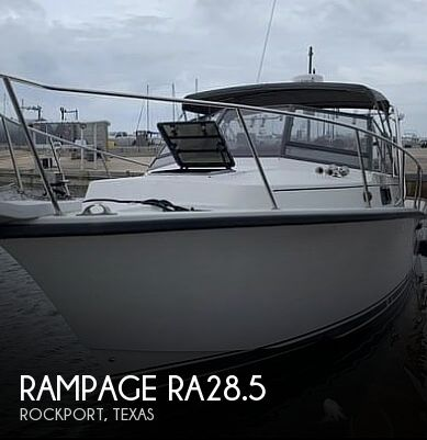 Used Rampage Boats For Sale by owner | 1988 Rampage RA28.5