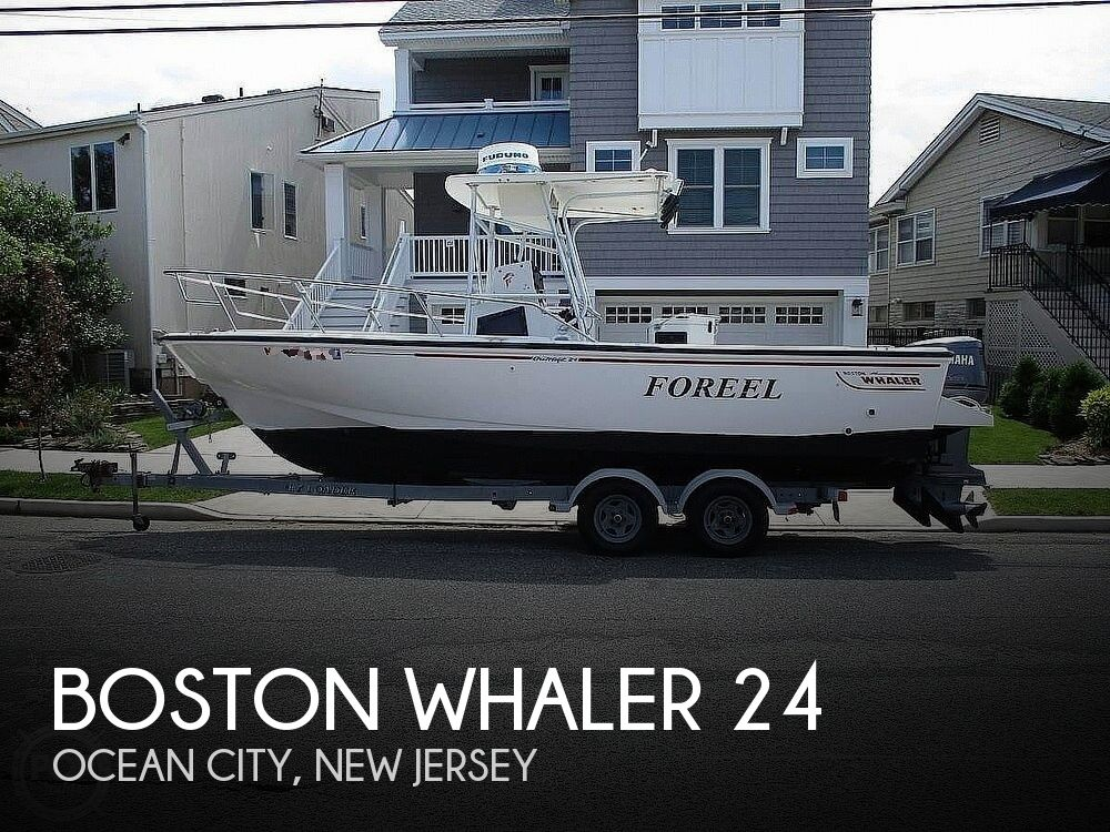 1994 Boston Whaler boat for sale, model of the boat is 24 Outrage & Image # 1 of 40