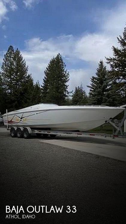 Used Baja Boats For Sale in Spokane, Washington by owner   2001 Baja Outlaw 33