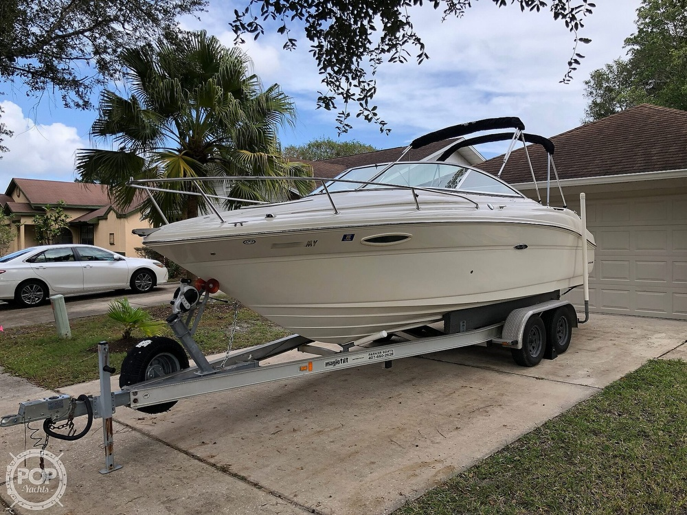 2005 Sea Ray boat for sale, model of the boat is 225 weekender & Image # 7 of 40