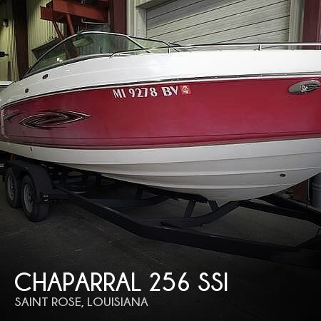Used Chaparral SSi Boats For Sale by owner | 2006 Chaparral 256 ssi